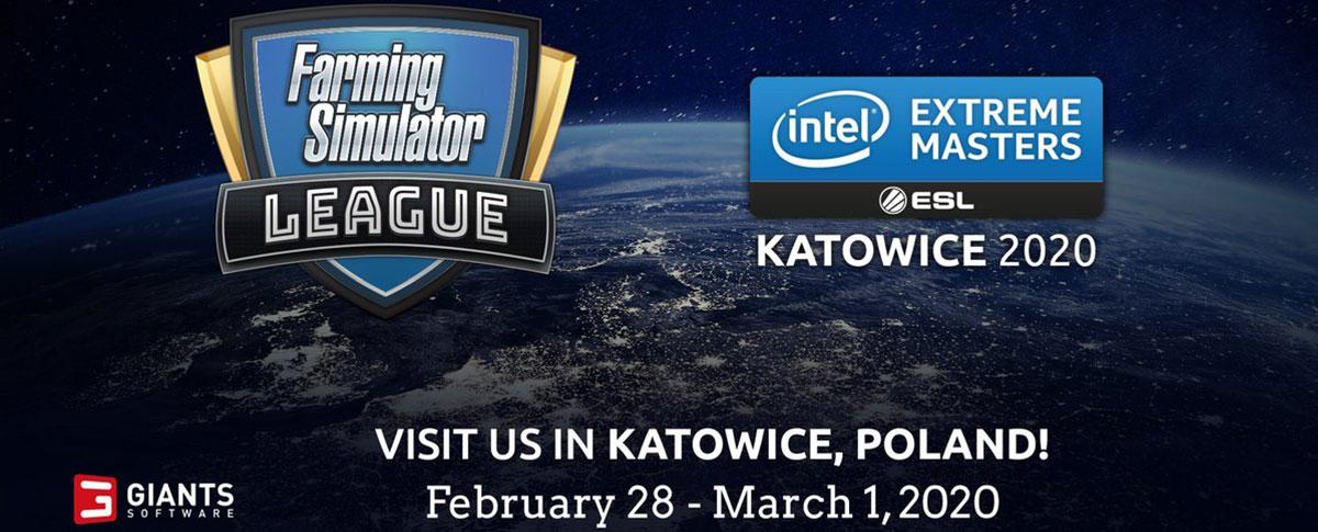 Farming Simulator League announced for IEM Katowice 2020