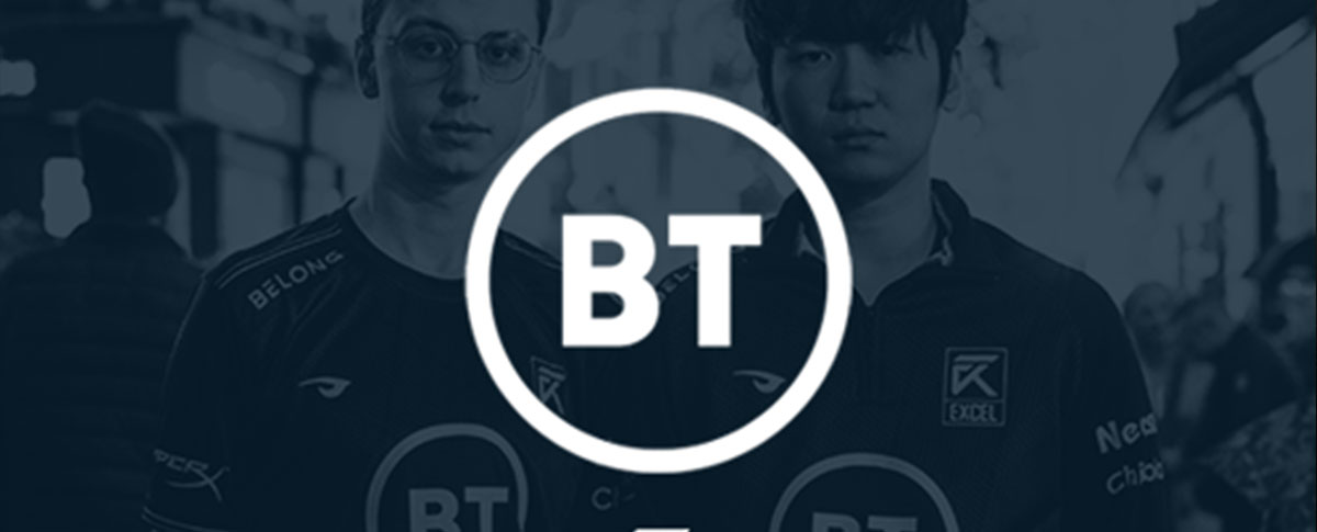 BT becomes Excel eSports lead partner